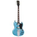 Vintage Guitars VS6VGHB Reissued Series With Vibrola Tailpiece Gun Hill Blue