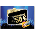 waardebon 50 euro