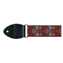 Souldier Vintage Guitar Strap Woodstock Red