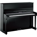 Yamaha P121 PEC Polished Ebony / Chrome