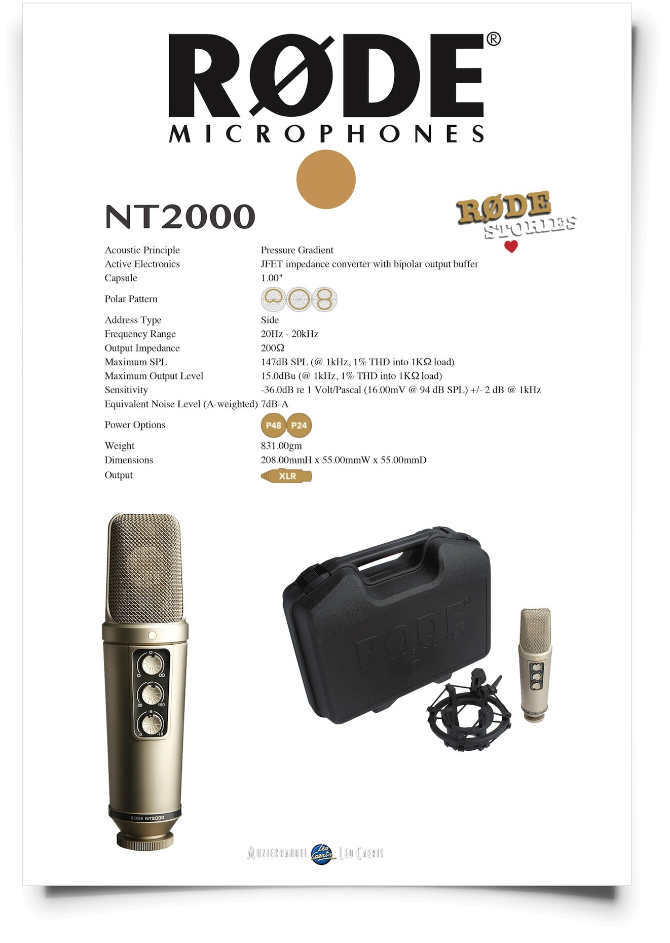 Rode NT2000