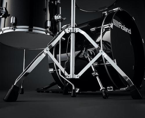 Double-Braced Chromen Drumstatieven